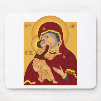 Our Lady of the Vladimir Mouse Pad