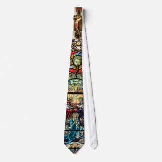 Our Lady of Victory tie-Religious design Tie