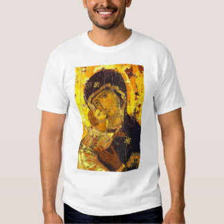 Our lady of Vladimir Tee Shirt