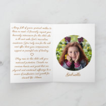 Our Lady Prayer to Hospitalized Child Folded Card