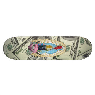 OUR LADY QUADELUPE SKATEBOARD DECK