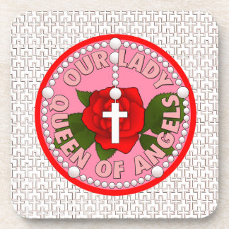 Our Lady Queen of Angels Beverage Coaster