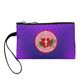 Our Lady Queen of Angels Coin Purse