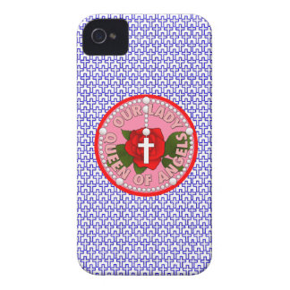 Our Lady Queen of Angels iPhone 4 Case
