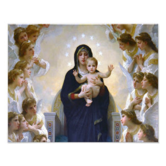 OUR LADY QUEEN OF ANGELS PHOTO PRINT