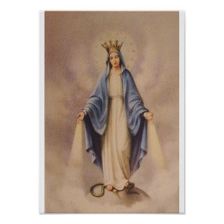 Our Lady Queen of Heaven Poster