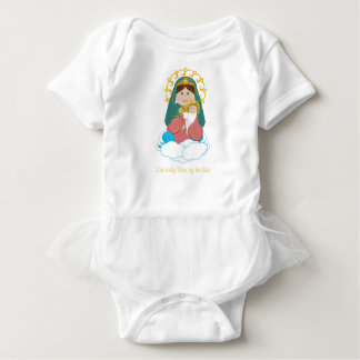Our Lady Star of the Sea Baby Bodysuit