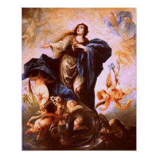 Our Lady Virgin Mary Immaculate Heart 2 Poster