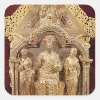 Our Lady's Shrine of Notre-Dame de Tournai Square Sticker