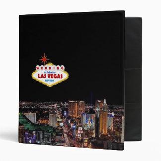 Our Las Vegas Wedding Album Binders