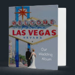 "Our Las Vegas Wedding Album with Bride & Groom Binder<br><div class=""desc"">Our Las Vegas Wedding Album with Bride & Groom</div>"
