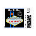 Our Las Vegas Wedding Stamps