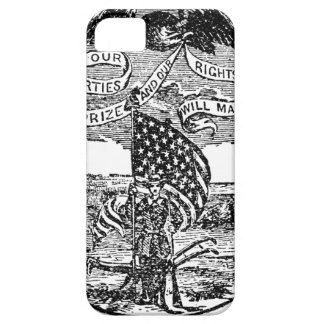 Our Liberties We Prize, Rights We Maintain iPhone SE/5/5s Case
