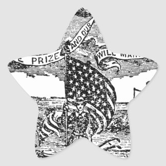 Our Liberties We Prize, Rights We Maintain Star Sticker