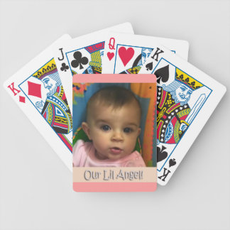 Our Lil Angel Bicycle Playing Cards