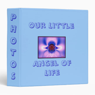 Our Little Angel Of Life (Boy) Binder