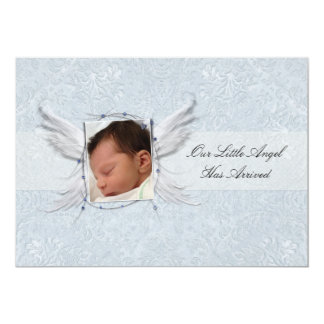Our Little Angel Wings Birth Announcement