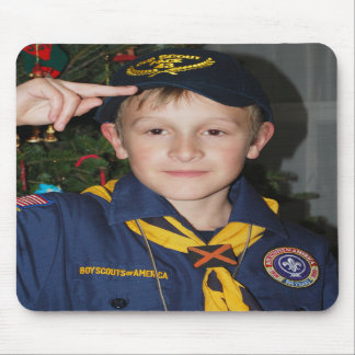 Our Little Boy Scout Mousepads