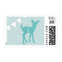 Our Little Buck is Turning 1 Postage