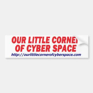 Our Little Corner Bumper Sticker Car Bumper Sticker