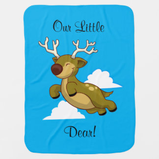 "Our Little ""Dear"" Stroller Blanket"