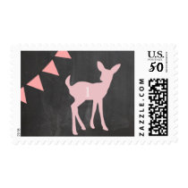 Our Little Doe is Turning ONE! Birthday Postage