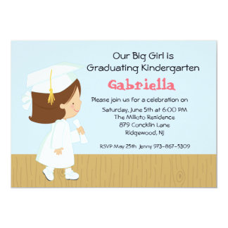 Our Little Girl's  Graduation Invitation
