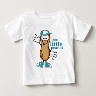 Our Little Peanut (Blue) Baby T-Shirt