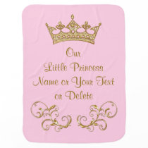 Our Little Princess Baby Blanket PERSONALIZED