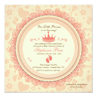 Our Little Princess Baby Shower Invitation