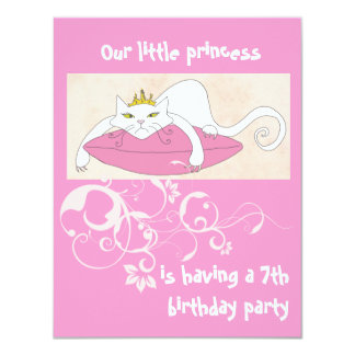 Our little princess birthday party invitation