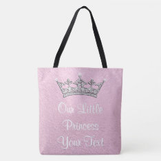 Our Little Princess Personalized Tote Bag at Zazzle