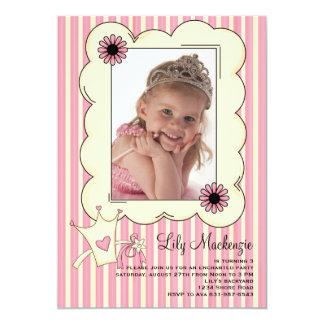 Our Little Princess Photo Birthday Invitation