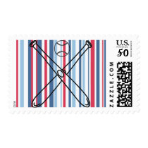 Our Little Slugger is Turning One themed Postage