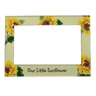Our Little Sunflower Magnetic Photo Frame