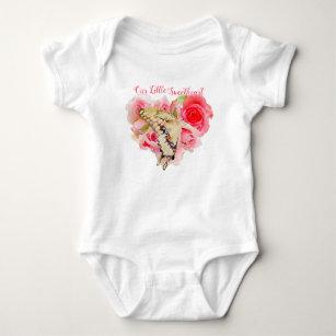 Daddy/'s Sweetheart Butterfly Baby Girl Wreath
