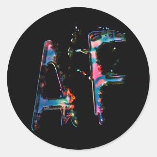 Our logo button! classic round sticker