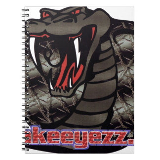 our logo products spiral notebook