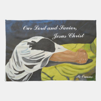 Our Lord and Savior, Jesus Christ Kitchen Towel