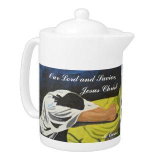 Our Lord and Savior, Jesus Christ Teapot