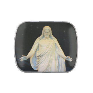 Our Lord Jesus Christ The Christos Candy Tin