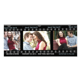 Our love film - Save the Date Card Personalized Announcement