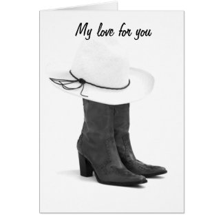 OUR LOVE HAS BEEN SUNG IN COUNTRY SONGS CARD