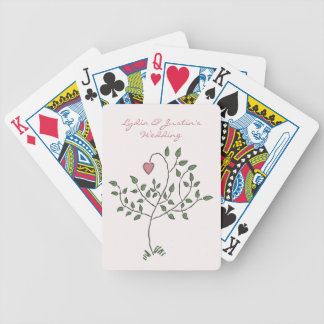 Our Love is Deeply Rooted Bicycle Playing Cards