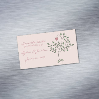 Our Love is Deeply Rooted Business Card Magnet