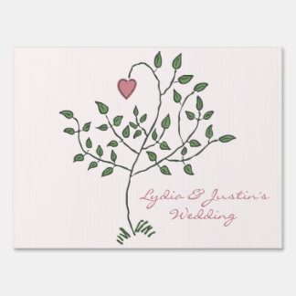 Our Love is Deeply Rooted medium Lawn Sign