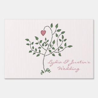 Our Love is Deeply Rooted small Yard Sign
