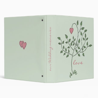"""Our Love is Deeply Rooted Wedding 1"""" Binder"""