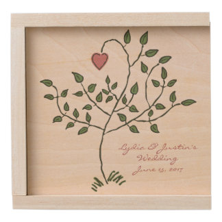 Our Love is Deeply Rooted Wooden Keepsake Box