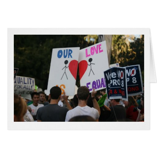 Our Love Is Equal Card